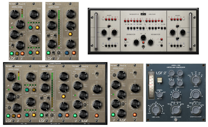 Lindell Audio 100% Lindell Bundle V1 2