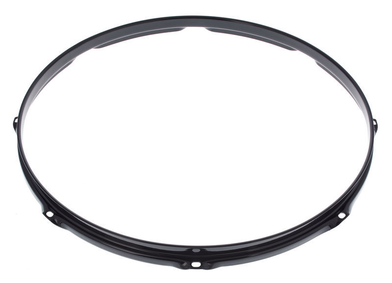 "Pearl 16"" Regular Tune Hoop Black"
