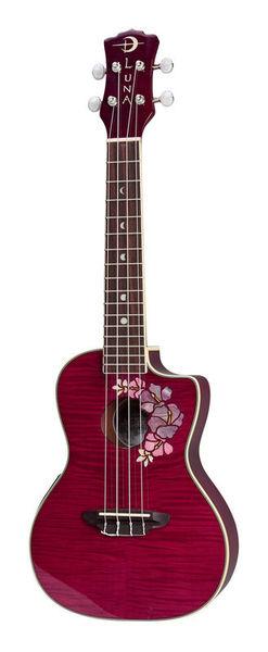 Luna Guitars Ukulele Flora Concert