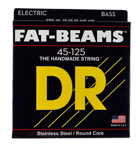 DR Strings Fat Beam Stainless 5 045/125