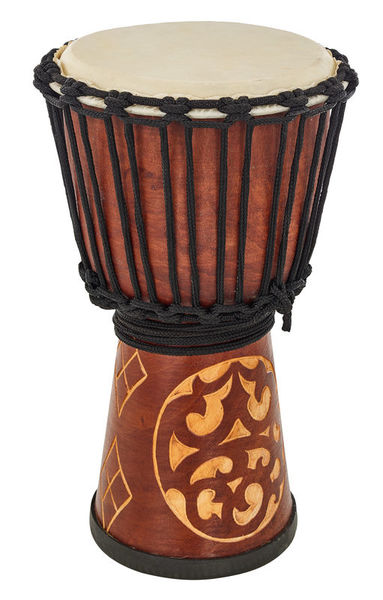 Terre Djembe Carved Ornament 40cm