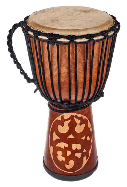 Terre Djembe Carved Ornament 50cm