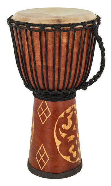 Terre Djembe Carved Ornament 60cm