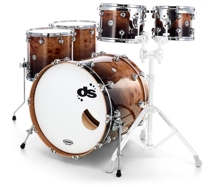 DS Drums Rebel Hy.Maple Exotic Elm Burl