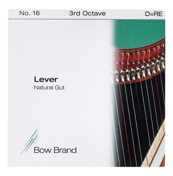 Bow Brand NG 3rd D Gut Harp String No.16