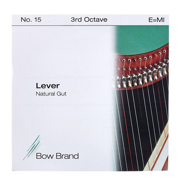 Bow Brand NG 3rd E Gut Harp String No.15