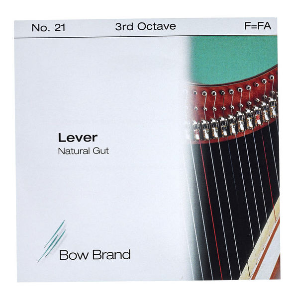 Bow Brand NG 3rd F Gut Harp String No.21