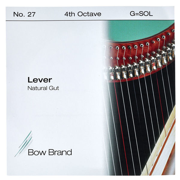 Bow Brand NG 4th G Gut Harp String No.27