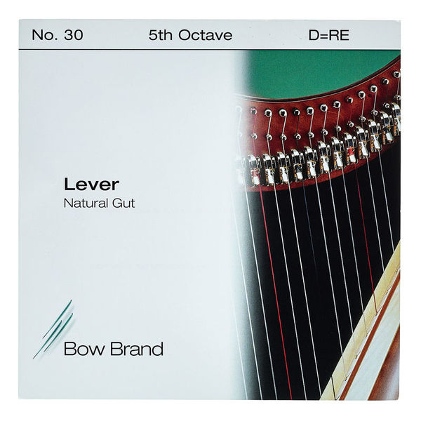Bow Brand NG 5th D Gut Harp String No.30