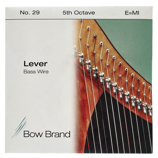 Bow Brand BW 5th E Harp Bass Wire No.29