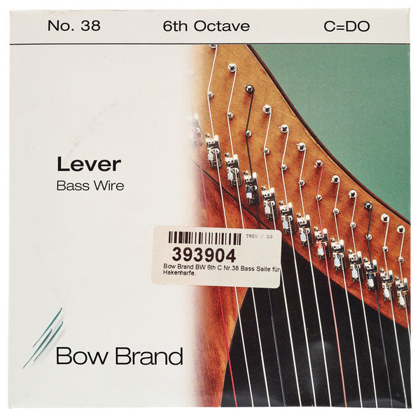 Bow Brand BW 6th C Harp Bass Wire No.38