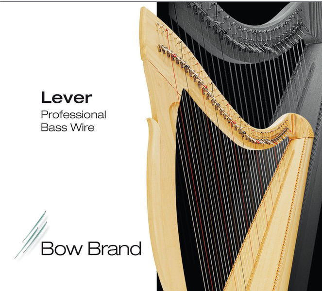 Bow Brand BWP 5th D Harp Bass Wire No.30