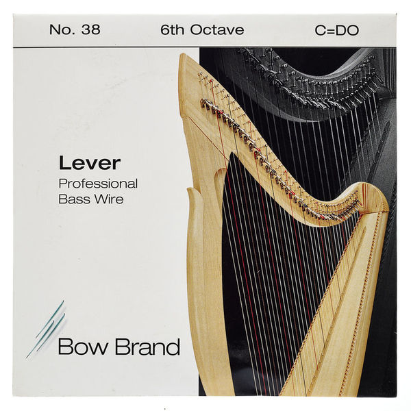 Bow Brand BWP 6th C Harp Bass Wire No.38