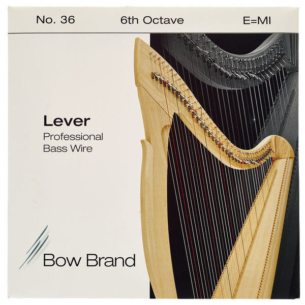 Bow Brand BWP 6th E Harp Bass Wire No.36