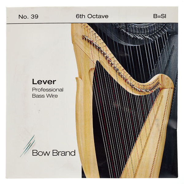 Bow Brand BWP 6th B Harp Bass Wire No.39