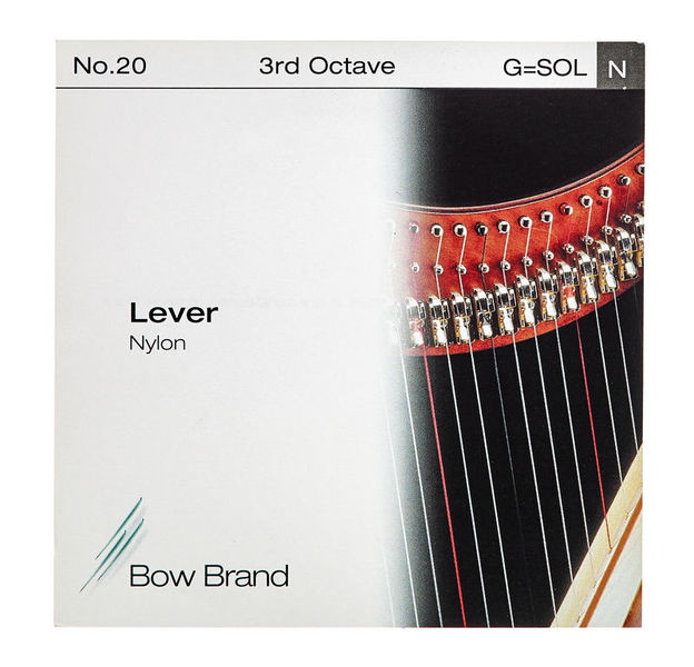 Bow Brand Lever 3rd G Nylon String No.20