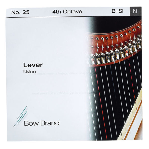 Bow Brand Lever 4th B Nylon String No.25