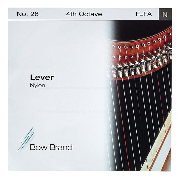 Bow Brand Lever 4th F Nylon String No.28