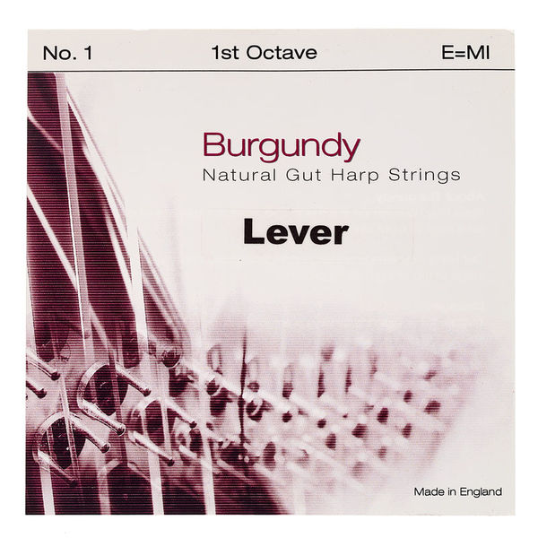 Bow Brand Burgundy 1st E Gut String No.1