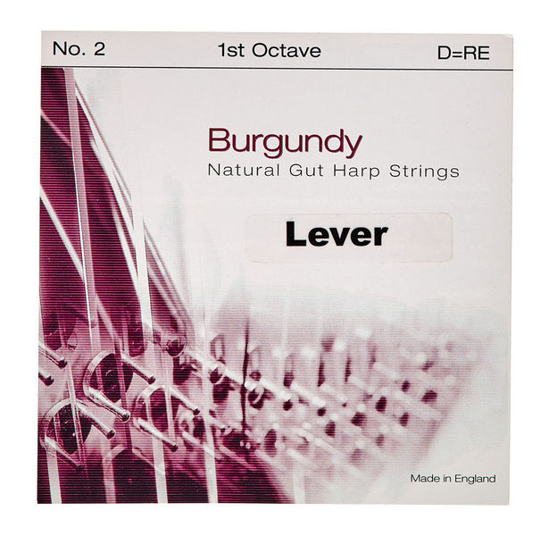 Bow Brand Burgundy 1st D Gut String No.2