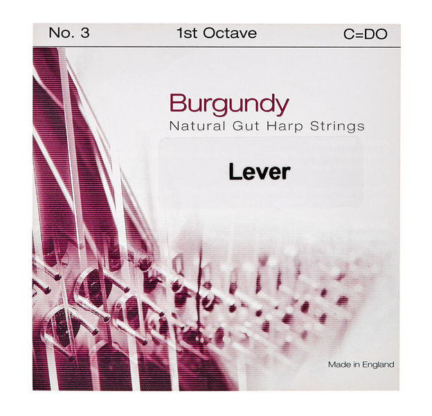 Bow Brand Burgundy 1st C Gut String No.3