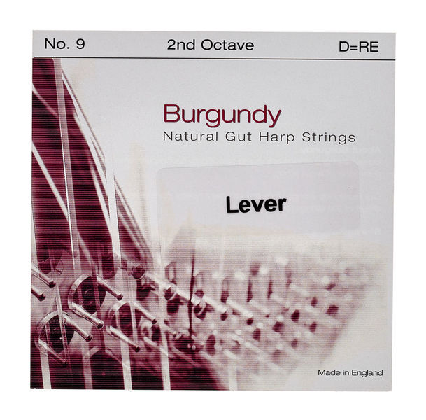 Bow Brand Burgundy 2nd D Gut Str. No.9