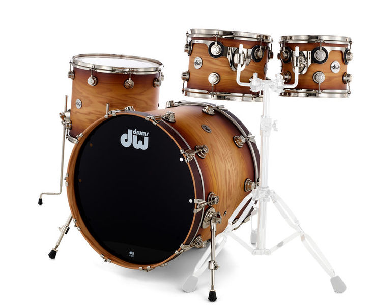 DW Lacquer Specialty Oak Burst