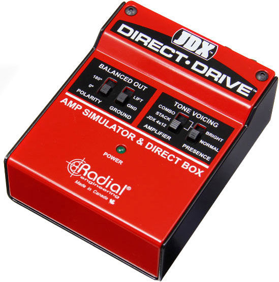 Radial Engineering JDX Direct-Drive