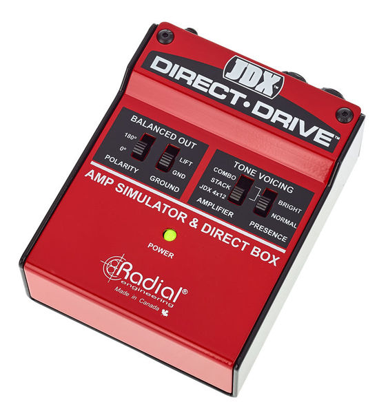 JDX Direct-Drive Radial Engineering