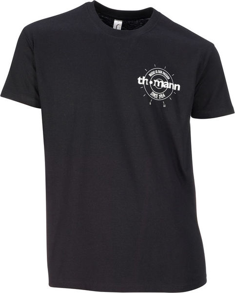 Thomann T-Shirt Black 3XL