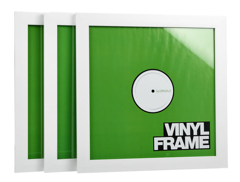 Glorious Vinyl Frame Set white