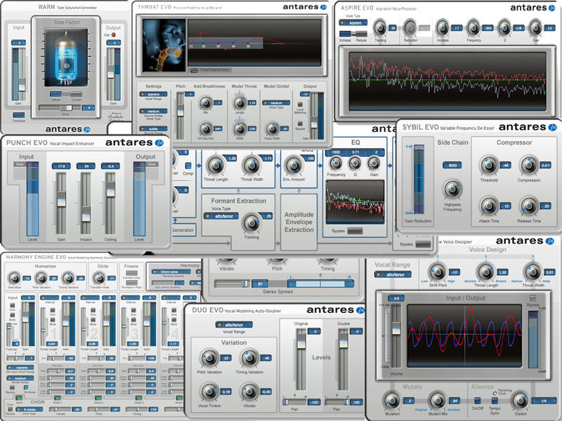 Antares Auto-Tune Vocal Studio