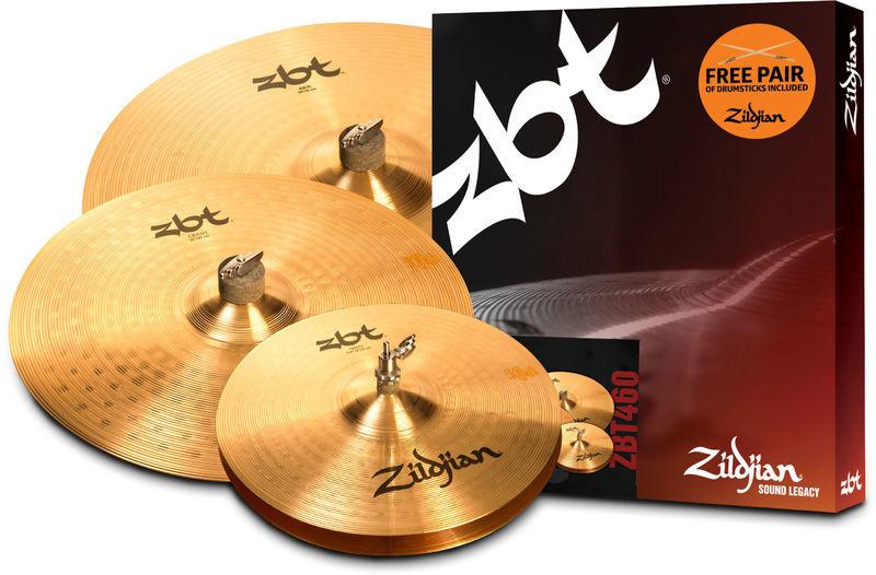 Zildjian ZBT 5 Box Set 460