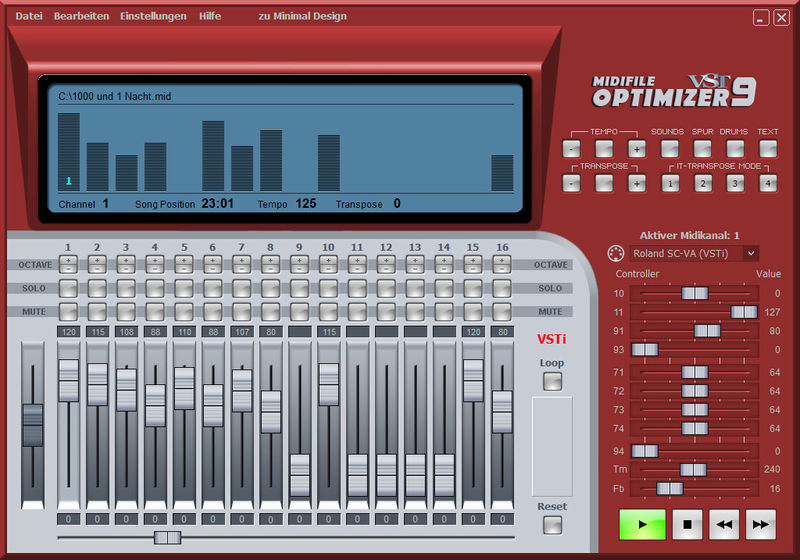 Midiland Optimizer 9 VST
