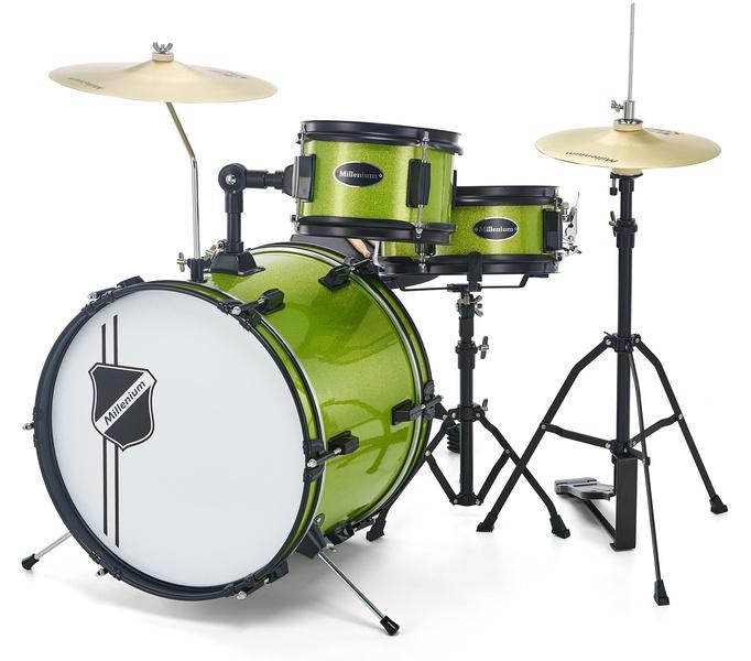 Youngster Drum Set Green Millenium