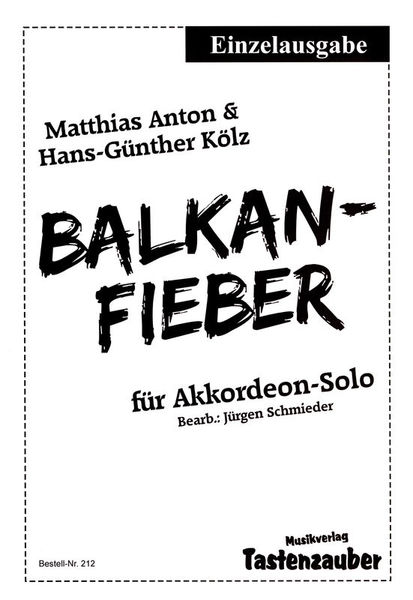 Musikverlag Tastenzauber Balkan-Fieber