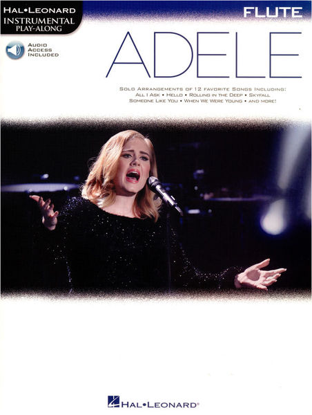Hal Leonard Instrument Play Along Adele Fl