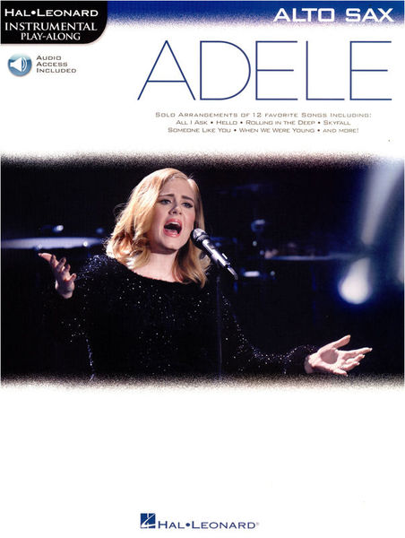 Hal Leonard Instr. Play Along Adele AltoS