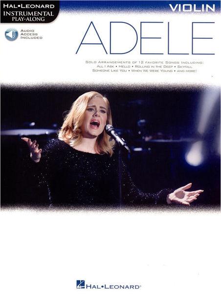 Hal Leonard Instr. Play Along Adele Violin