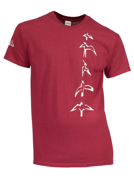 PRS T-Shirt Bordeaux Bird S