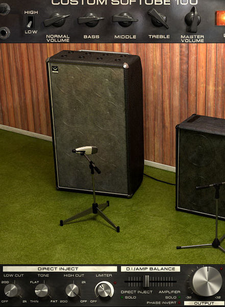 Softube Bass Amp Room