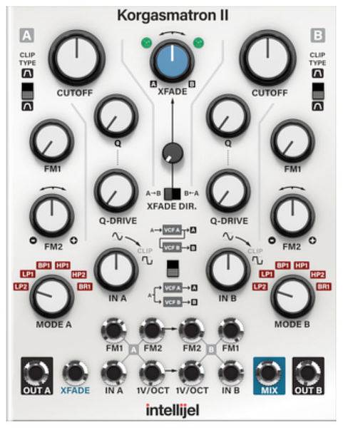 Softube Intellijel Korgasmatron II