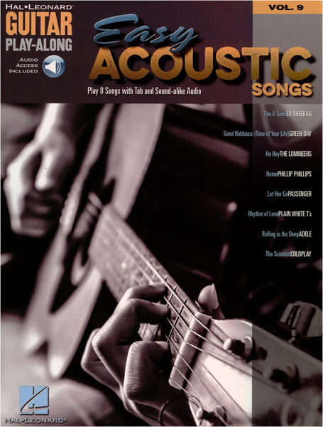 Hal Leonard Guitar PlayAlong Easy Acoustic