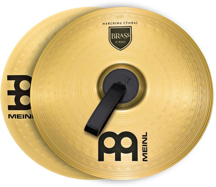 "Meinl 18"" Brass Marching Cymbal"