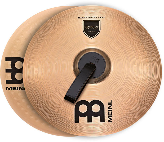 "Meinl 18"" Bronce Marching Cymbal"