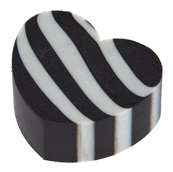 A-Gift-Republic Eraser Heart Black G-Clef