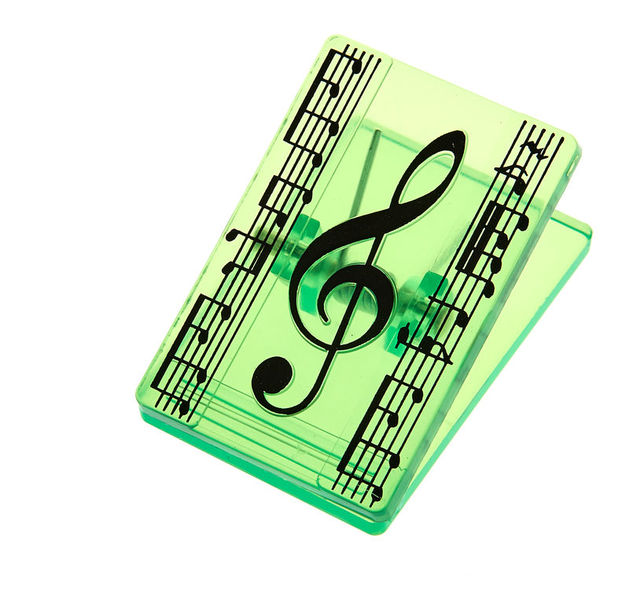 A-Gift-Republic Clip Music Violin Clef Green