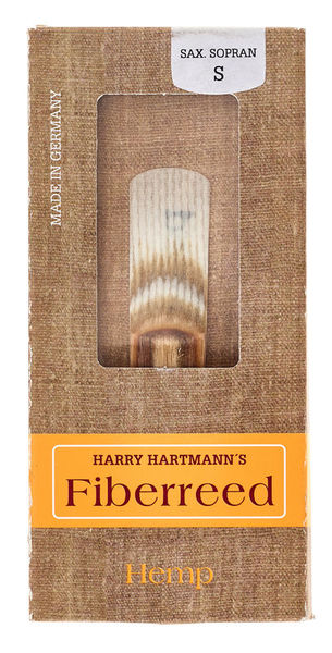 Harry Hartmann Fiberreed HEMP Soprano Sax S