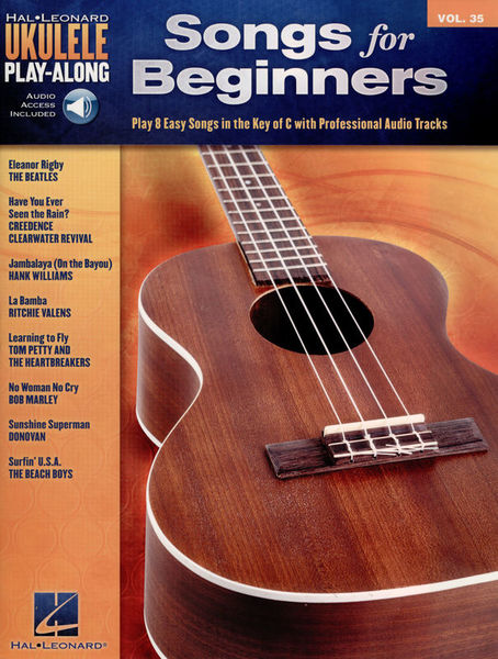 Hal Leonard Ukulele Play-Along: Beginners
