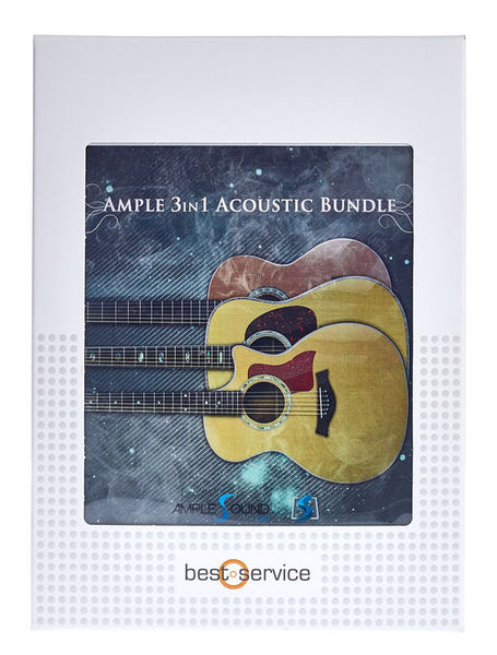 Ample Sound Ample 3 in1 Acoustic Bundle